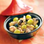 Tajine de veau aux raisins