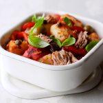 Salade de pomme de terre au thon